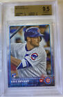2015 Topps Kris Bryant Rookie Card RC Gem Mint BGS 9.5 W 2 10s! Cross To PSA