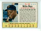 1963 Post Cereal WILLIE MAYS #106 Hand Cut HOF San Francisco Giants