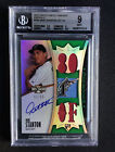 Giancarlo Mike Stanton 2010 Topps Triple Threads Jersey RC 50 BGS 9 Auto 10