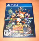 Bubsy Paws On Fire Limited Edition PlayStation 4 PS4 Brand New Y Fold Sealed