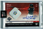 2019 TOPPS NOW JUAN SOTO NLCS #1021C H.S. AUTOGRAPH GAME USED BASE RELIC 5 10