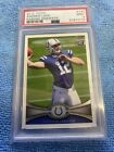 Andrew Luck Signs Deal with Upper Deck, Revealed as Trade UD Mystery Redemption 4