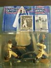 1997 COOPERSTOWN COLLECTION JACKIE ROBINSON , HANK AARON STARTING LINEUP DOUBLES