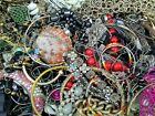 MAMAS ESTATE 10 LBS VTG NOW JUNK JEWELRY STRICTLY CRAFT JEWELRY MAKING LOT RAL