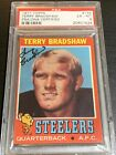 1971 Topps Terry Bradshaw Rookie Autograph PSA 6 Auto Rc Dna Signed Hof Steelers