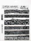 Tim Holtz Stampers Anonymous Rubber Cling Stamps  Eclectic Edges  CMS399