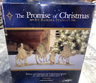 The Promise of Christmas Deluxe Nativity by Robert Stanley Metal 3 Piece Set