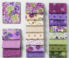 Boundless VIOLETTE Jelly Rolls Cotton Fabric LOT of 2 HTF
