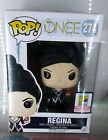 Once Upon A Time Regina Glitter 2015 SDCC 1008 limited ed. Funko Pop Black dress