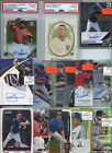 HUGE PREMIUM 1,000 CARD PATCH GRADED AUTO #'D BASEBALL ROOKIE COLLECTION LOT $$
