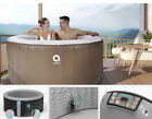 Portable Inflatable Hot Tub Spa Set 2 4 person