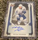 18-19 Tim Hortons NHL Signatures Mitch Marner Auto Toronto Maple Leafs