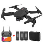 Dual Camera Drone 3Speed WIFI FPV 4K HD Foldable Wide Angle Selfie RC Quadcopter