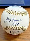JIMMY PIERSALL SIGNED AUTOGRAPHED GOLD GLOVE BASEBALL! Red Sox, Angels! PSA!