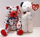 Ty Beanie Babies Two American Babies