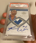2008-09 UD EXQUISITE RUSSELL WESTBROOK AUTO PATCH RC PSA 10! POP 4! BEST RC!!