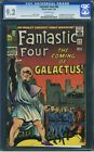 Fantastic Four 48 CGC 92 1st Galactus  Silver Surfer  OLD LABEL 0250053001