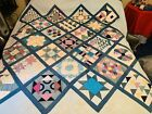 Vintage King sz Handcrafted Quilt