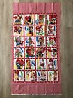 Vintage Style ABCs Valentines Fabric Panel With All My Heart Mary Mulari