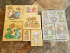 Precious Moments lot 12 LRGRubber  Foam Stamp Set very good condition