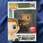 Funko Pop! DC Arrow Island Scarred Oliver Queen #260 Fugitive Toys Excl! VAULTED