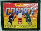 Matchbox Convoy Official Truck Collector Carry Case Holds 24 Trucks 1983