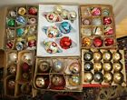 VINTAGE GLASS CHRISTMAS TREE ORNAMENTS Mixed lot of 30 Surprise Box