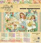 Graphic 45 Sweet Sentiments 12 x 12 Paper Pad + Sticker Sheet Easter Spring