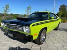 1973 Plymouth Duster 340 Coupe V8 Automatic sport 1973 Plymouth Duster 340 Coupe V8 Automatic Coupe Green RWD Automatic sport