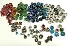 100+ Charm Lampwork Murano Glass Beads Assorted Lot w Extra Charms Jewelry