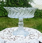 Fostoria Crystal Glass Colony Footed Compote Fruit Bowl Center Bowl 10 Dia