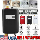 3800W Instant Hot Water Heater Electric Tankless Shower Sink Kitchen Bathroom US