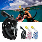 2021 Full Face Mask Swim Underwater Diving Snorkel Scuba For GoPro Glass Adults