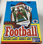 1989 TOPPS FOOTBALL WAX BOX - 36 Unopened Wax Pack Cards * Elway Irvin Rookie