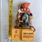1998 PEZ Dispenser Wile E. Coyote & Road Runner Candy Hander battery Operated