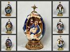 7 EGGS HOUSE OF FABERGE EGG COLLECTION LIFE OF JESUS CHRIST MARY NATIVITY