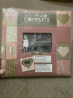 Tapestry by CR Gibson Complete Scrapbook Album 12x12 Friends Cozy Corner Quilted