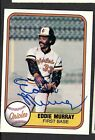Eddie Murray Cards, Rookie Cards and Autographed Memorabilia Guide 40