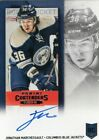 2013-14 Panini Contenders Hockey Rookie Ticket Autograph Variations Guide 103
