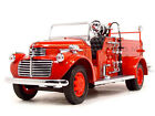 1941 GMC FIRE TRUCK ENGINE RED WITH ACCESSORIES 124 BY ROAD SIGNATURE 20068