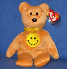 TY DIMPLES the BEAR  BEANIE BABY - MINT with MINT TAG