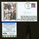 Barry Bonds Signed FDC First Day Cover 6x4 Autographed Giants PSA DNA