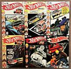 HOT WHEELS COMPLETE DC COMIC LOT OF 6 BOOKS NEAL ADAMS FREE SHIPPING