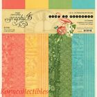Graphic 45 Lost In Paradise Patterns  Solids 12x12 New