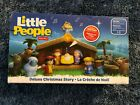 FISHER PRICE LITTLE PEOPLE NATIVITY 12 FIGURE SET DELUXE CHRISTMAS STORY NEW 20