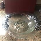 Arthur court grape glass bowl With Metal Brand New In Box