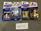 (2) 1989 Starting Lineup Al Leiter NEW YORK NY YANKEES AND Kirk Gibson Dodgers
