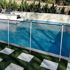4ft Black Removable Pool Privacy Fence Inground Pools Safety Security with Poles