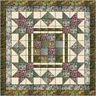 Quilt Kit Christmas Eve Town Square Layer Cake Squares by Benartex