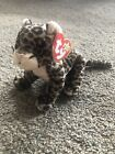 With Tag Ty Beanie Babies Plush Leopard Sneaky Birthday Feb 22, 2000